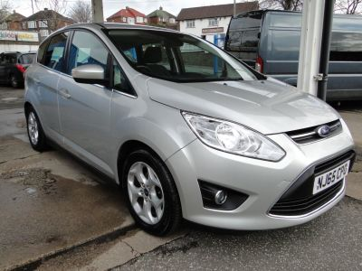 Ford C-MAX 1.6 TDCi Zetec 5dr MPV Diesel SilverFord C-MAX 1.6 TDCi Zetec 5dr MPV Diesel Silver at Foxhill Used Cars Sheffield