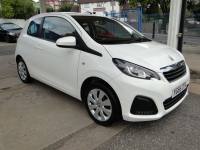 Peugeot 108 1.0 Active 3dr Hatchback Petrol WhitePeugeot 108 1.0 Active 3dr Hatchback Petrol White at Foxhill Used Cars Sheffield