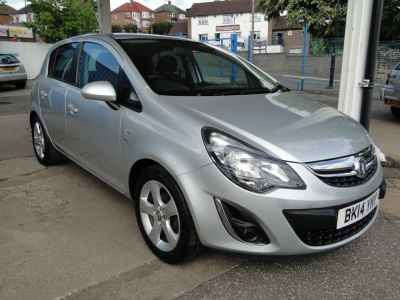 Vauxhall Corsa 1.4 SXi 5dr [AC] Hatchback Petrol SilverVauxhall Corsa 1.4 SXi 5dr [AC] Hatchback Petrol Silver at Foxhill Used Cars Sheffield