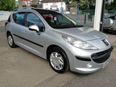 Peugeot 207 1.4 VTi S 5dr Estate Petrol SilverPeugeot 207 1.4 VTi S 5dr Estate Petrol Silver at Foxhill Used Cars Sheffield