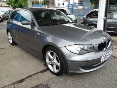 BMW 1 Series 2.0 116d Sport 3dr Hatchback Diesel GreyBMW 1 Series 2.0 116d Sport 3dr Hatchback Diesel Grey at Foxhill Used Cars Sheffield