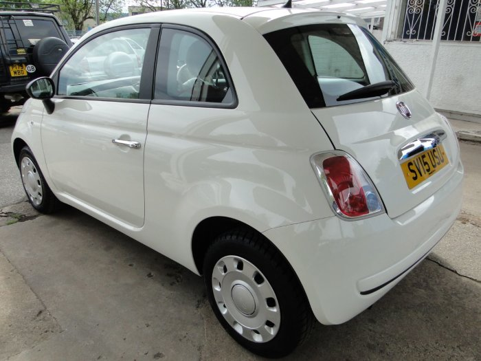 Fiat 500 1.2 Pop 3dr [Start Stop] Hatchback Petrol White