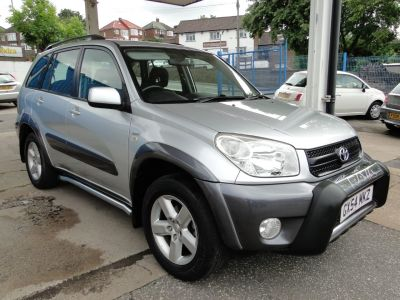 Toyota Rav-4 2.0 XT4 5dr Estate Petrol SilverToyota Rav-4 2.0 XT4 5dr Estate Petrol Silver at Foxhill Used Cars Sheffield