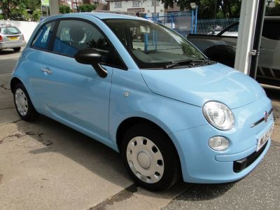 Fiat 500 1.2 Pop 3dr [Start Stop] Hatchback Petrol BlueFiat 500 1.2 Pop 3dr [Start Stop] Hatchback Petrol Blue at Foxhill Used Cars Sheffield