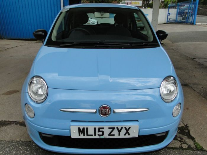 Fiat 500 1.2 Pop 3dr [Start Stop] Hatchback Petrol Blue