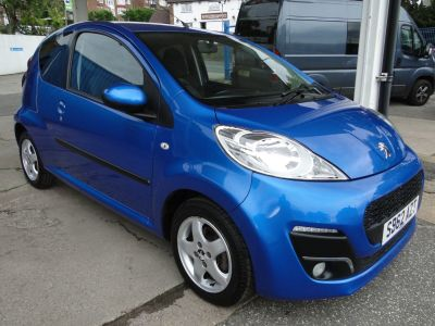 Peugeot 107 1.0 Allure 3dr Hatchback Petrol BluePeugeot 107 1.0 Allure 3dr Hatchback Petrol Blue at Foxhill Used Cars Sheffield