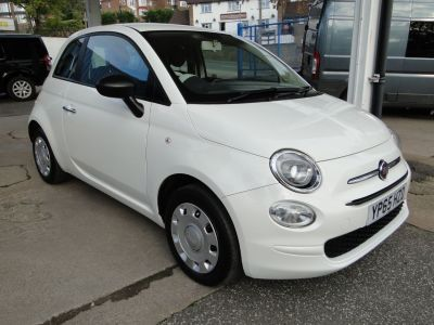 Fiat 500 1.2 Pop 3dr Hatchback Petrol WhiteFiat 500 1.2 Pop 3dr Hatchback Petrol White at Foxhill Used Cars Sheffield